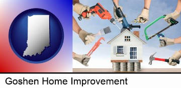home improvement concepts and tools in Goshen, IN
