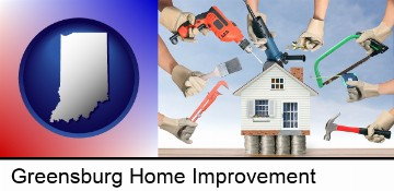 home improvement concepts and tools in Greensburg, IN