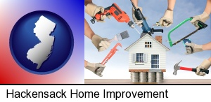 Hackensack, New Jersey - home improvement concepts and tools