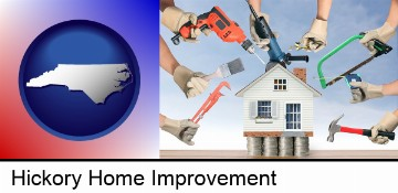home improvement concepts and tools in Hickory, NC