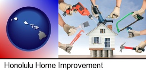 home improvement concepts and tools in Honolulu, HI