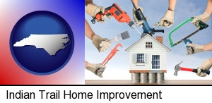 home improvement concepts and tools in Indian Trail, NC