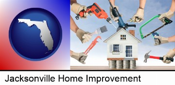 home improvement concepts and tools in Jacksonville, FL