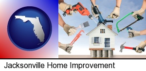Jacksonville, Florida - home improvement concepts and tools