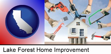 home improvement concepts and tools in Lake Forest, CA