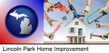 home improvement concepts and tools in Lincoln Park, MI