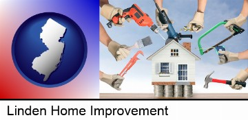 home improvement concepts and tools in Linden, NJ