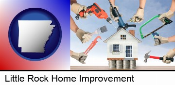 home improvement concepts and tools in Little Rock, AR