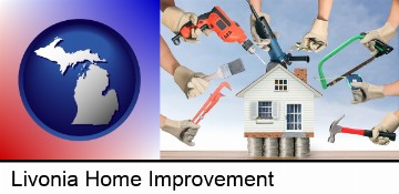 home improvement concepts and tools in Livonia, MI