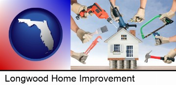 home improvement concepts and tools in Longwood, FL