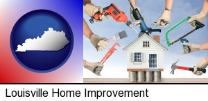 Louisville, Kentucky - home improvement concepts and tools