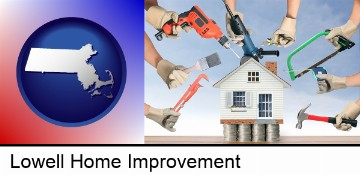 home improvement concepts and tools in Lowell, MA