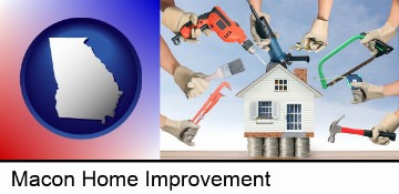 home improvement concepts and tools in Macon, GA
