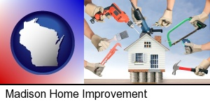 home improvement concepts and tools in Madison, WI