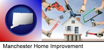 home improvement concepts and tools in Manchester, CT