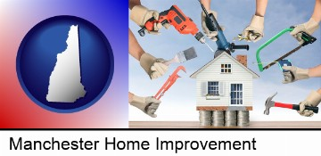 home improvement concepts and tools in Manchester, NH