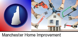 Manchester, New Hampshire - home improvement concepts and tools
