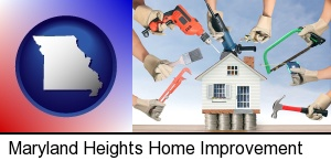home improvement concepts and tools in Maryland Heights, MO