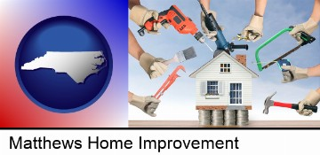 home improvement concepts and tools in Matthews, NC