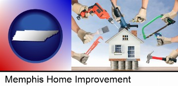 home improvement concepts and tools in Memphis, TN