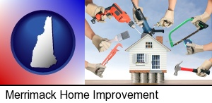 home improvement concepts and tools in Merrimack, NH
