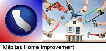 home improvement concepts and tools in Milpitas, CA