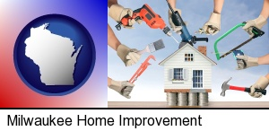 Milwaukee, Wisconsin - home improvement concepts and tools