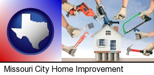home improvement concepts and tools in Missouri City, TX
