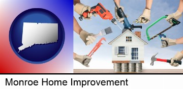 home improvement concepts and tools in Monroe, CT
