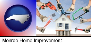 home improvement concepts and tools in Monroe, NC
