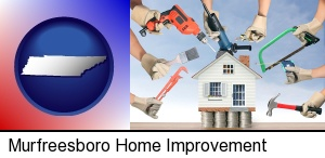 Murfreesboro, Tennessee - home improvement concepts and tools