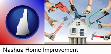 home improvement concepts and tools in Nashua, NH