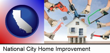 home improvement concepts and tools in National City, CA