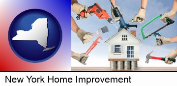 home improvement concepts and tools in New York, NY