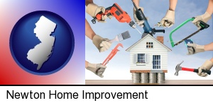 Newton, New Jersey - home improvement concepts and tools