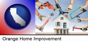 home improvement concepts and tools in Orange, CA