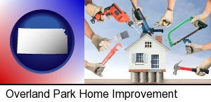 Overland Park, Kansas - home improvement concepts and tools