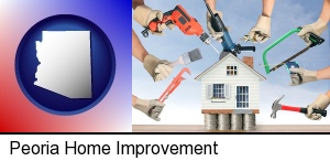 home improvement concepts and tools in Peoria, AZ