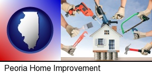 home improvement concepts and tools in Peoria, IL