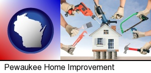 Pewaukee, Wisconsin - home improvement concepts and tools