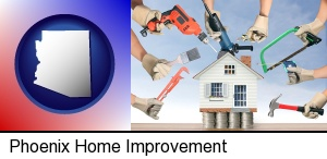 home improvement concepts and tools in Phoenix, AZ