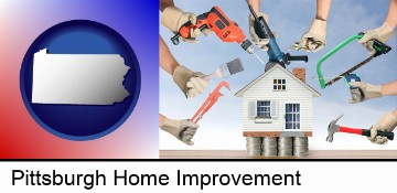 home improvement concepts and tools in Pittsburgh, PA