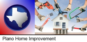 home improvement concepts and tools in Plano, TX