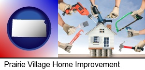home improvement concepts and tools in Prairie Village, KS