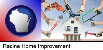 home improvement concepts and tools in Racine, WI