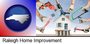 home improvement concepts and tools in Raleigh, NC