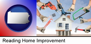 home improvement concepts and tools in Reading, PA