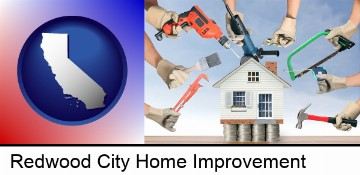 home improvement concepts and tools in Redwood City, CA