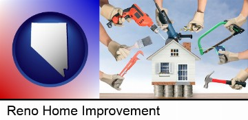 home improvement concepts and tools in Reno, NV