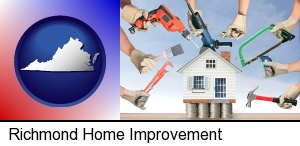 Richmond, Virginia - home improvement concepts and tools